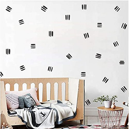 Line Wall Decals Modern Wall Stickers Boho Stickers for Wall Removable Peel and Stick Wall Decals Office Wall Decals