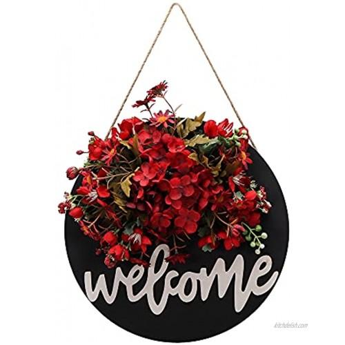 Fall Wreaths for Front Door Handmade Hydrangea Wreath,Fall Wreaths for Front Door,Fall Wreath,Farmhouse Door Wreaths,Grapevine Fall Wreath-40