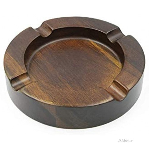 Catel Cigar Ashtray Wooden Cigar Ash Tray | Catel Cigar Ashtrays are the Perfect Cigar Accessories for Men and Great Gifts for Cigar Lovers Cigar Gifts for Men Large Ashtray for Home or Outdoor