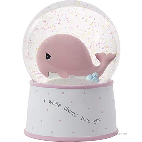 Precious Moments Mightier Than The Waves Musical Snow Globe One Size Multicolor