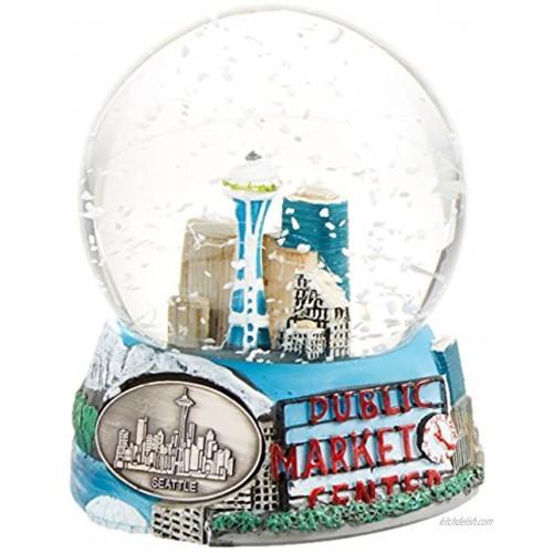 Seattle Washington Snow Globe 65mm