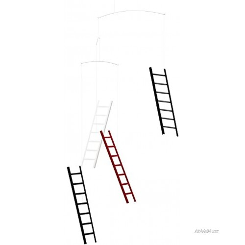 7 Steps Four Heaven Hanging Mobile 26 Inches Handmade in Denmark by Flensted