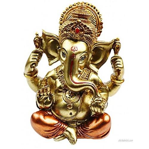Hindu God Lord Ganesha Idol Statue Indian Elephant Buddha Ganesha Sculpture -India Home Temple Mandir Pooja Item Indian Wedding Return Gifts Diwali Gifts Meditation Yoga Room Altar Decoration