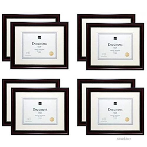 Kiera Grace Traditional Document-Frames 11x14 Dark Brown
