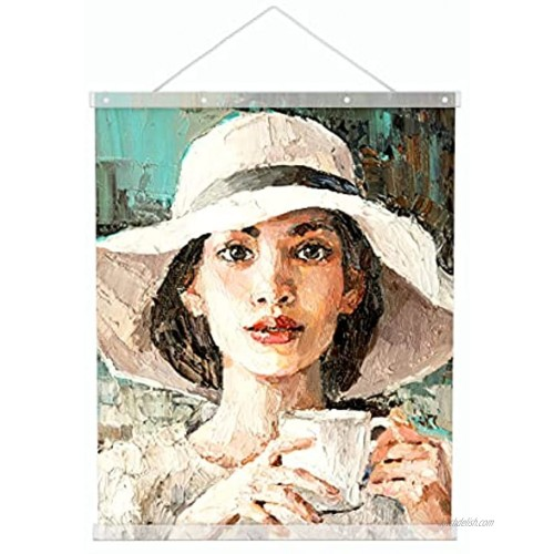 AITEE Magnetic Poster Hanger Frame 18inch ,1Pcs Acrylic Wall Hanging Poster Hanger for Hang Posters Photo Prints  Movie Posters  Canvas Artwork and Painting