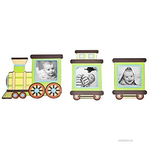 Philip Whitney 3 Piece Magnetic Train Picture Frame Set