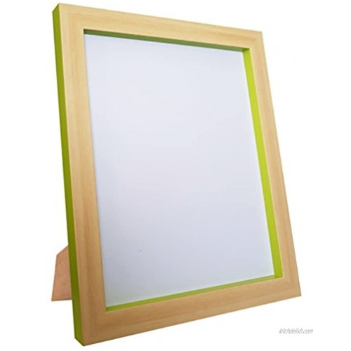 FRAMES BY POST MAGNUSBEEGRN2110 Plastic Glass Magnus Picture Photo Frame 21 x 10 Inch Beech and Green