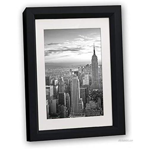 ZEP S.r.l. Madison Black Plastic Picture Frame Bildformat10 x 15 cm Oder 15 x 20 cm