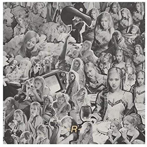 Blackpink Rose -R- 1st Solo Single Album CD+98p PhotoBook+Lyrics Paer+Sticker+4p Postcard+2p Polaroid+Message PhotoCard Set+Tracking Kpop Sealed