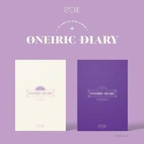 IZONE 'Oneiric Diary' 3rd Mini Album Random Version CD+92p PhotoBook+1p Holder+1p Sticker+1p Film+2p PhotoCard+1p AR+Message PhotoCard Set+Tracking Kpop Sealed
