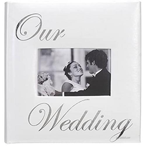OUR WEDDING album by Malden holds 160 photos 4x6