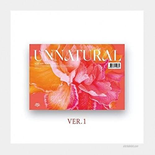 WJSN Cosmic Girls Unnatural 9th Mini Album Version.1 CD+1p Poster+PhotoBook+2p PhotoCard+1p Mini Photo Slogan+Message PhotoCard Set+Tracking Kpop Sealed