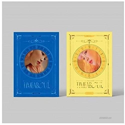 Yukika Timeabout 1st Mini Album 2 Version Set CD+68p PhotoBook+1p Film Photo+1p Circle Bookmark+2p PhotoCard+1p Sticker+Message PhotoCard Set+Tracking Kpop Sealed