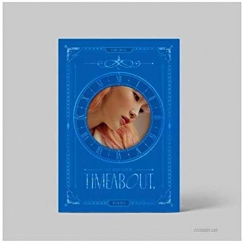 Yukika Timeabout 1st Mini Album Time Blue Version CD+1p Poster+68p PhotoBook+1p Film Photo+1p Circle Bookmark+2p PhotoCard+1p Sticker+Message PhotoCard Set+Tracking Kpop Sealed