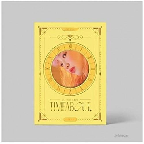 Yukika Timeabout 1st Mini Album Time Light Version CD+1p Poster+68p PhotoBook+1p Film Photo+1p Circle Bookmark+2p PhotoCard+1p Sticker+Message PhotoCard Set+Tracking Kpop Sealed